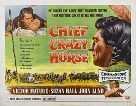 Chief Crazy Horse - 22 x 28 Movie Poster - Half Sheet Style A