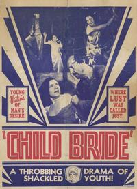 Child Bride - 11 x 17 Movie Poster - Style B