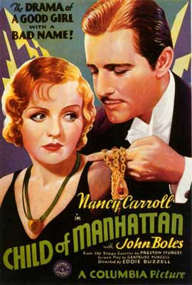 Child of Manhattan - 27 x 40 Movie Poster - Style A