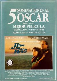 Children of a Lesser God - 11 x 17 Movie Poster - Spanish Style A