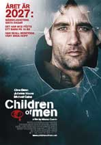 Children of Men - 43 x 62 Movie Poster - Swedish Style A