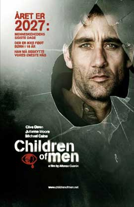 Children of Men - 11 x 17 Movie Poster - Danish Style A