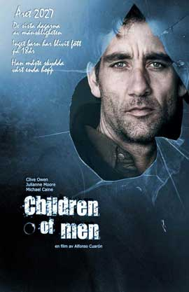 Children of Men - 11 x 17 Movie Poster - Swedish Style A
