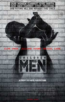 Image result for children of men movie poster