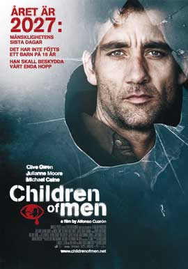 Children of Men - 27 x 40 Movie Poster - Swedish Style A