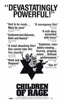Children of Rage - 11 x 17 Movie Poster - Style A
