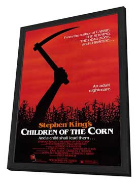 Children of the Corn - 27 x 40 Movie Poster - Style A - in Deluxe Wood Frame