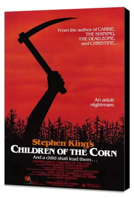 Children of the Corn - 27 x 40 Movie Poster - Style A - Museum Wrapped Canvas