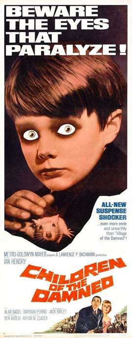 Children of the Damned - 14 x 36 Movie Poster - Insert Style A