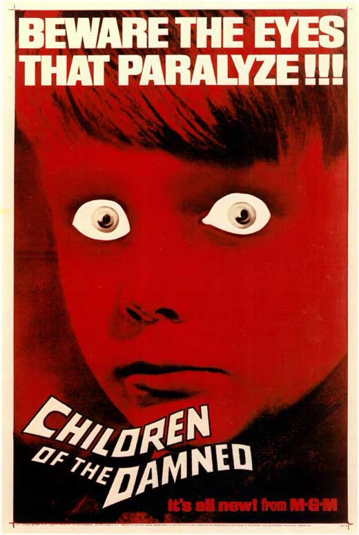 Children of the Damned Movie Posters From Movie Poster Shop Children Of The Damned 1964
