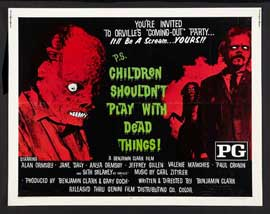Children Shouldn't Play With Dead Things - 22 x 28 Movie Poster - Half Sheet Style B