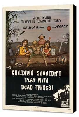 Children Shouldn't Play With Dead Things - 27 x 40 Movie Poster - Style A - Museum Wrapped Canvas