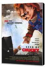 Child's Play 5: Seed of Chucky - 27 x 40 Movie Poster - Style B - Museum Wrapped Canvas