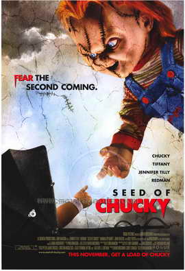 Child's Play 5: Seed of Chucky - 27 x 40 Movie Poster - Style B