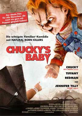 Child's Play 5: Seed of Chucky - 11 x 17 Movie Poster - German Style A