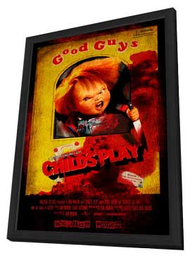 Childs Play - 11 x 17 Movie Poster - Chinese Style A - in Deluxe Wood Frame