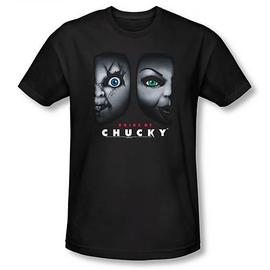 Childs Play - Child's Play Bride of Chucky Happy Couple Black T-Shirt