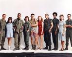 China Beach - China Cast Posed Together in Different Outfit