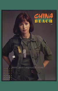China Beach - 43 x 62 Movie Poster - Bus Shelter Style A