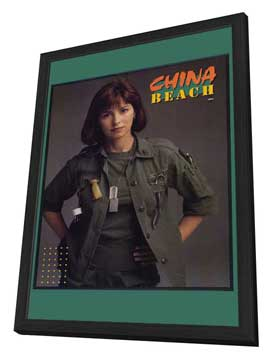 China Beach - 11 x 17 Movie Poster - Style A - in Deluxe Wood Frame