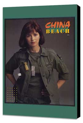 China Beach - 11 x 17 Movie Poster - Style A - Museum Wrapped Canvas