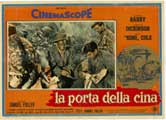 China Gate - 11 x 17 Movie Poster - Italian Style B