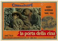 China Gate - 11 x 17 Movie Poster - Italian Style A