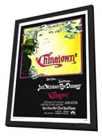 Chinatown - 11 x 17 Movie Poster - Style A - in Deluxe Wood Frame