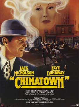 Chinatown - 11 x 17 Movie Poster - French Style A