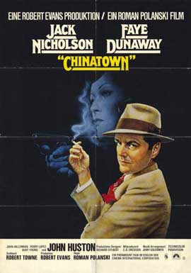 Chinatown - 11 x 17 Movie Poster - German Style A