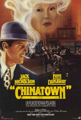 Chinatown - 27 x 40 Movie Poster - French Style A