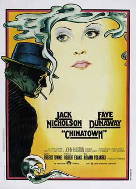 Chinatown - 11 x 17 Movie Poster - Italian Style A