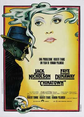 Chinatown - 27 x 40 Movie Poster - Italian Style A
