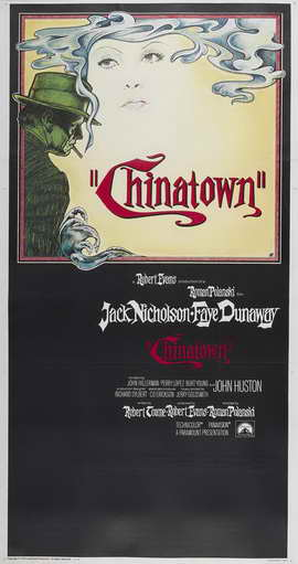 Chinatown - 14 x 36 Movie Poster - Insert Style A