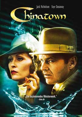Chinatown - 27 x 40 Movie Poster - German Style B