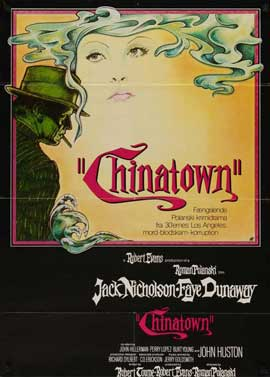Chinatown - 27 x 40 Movie Poster - Danish Style A