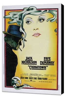 Chinatown - 27 x 40 Movie Poster - Italian Style A - Museum Wrapped Canvas