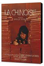 Chinoise, La - 27 x 40 Movie Poster - French Style A - Museum Wrapped Canvas