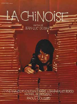 Chinoise, La - 11 x 17 Movie Poster - French Style A