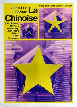 Chinoise, La - 11 x 17 Movie Poster - German Style A