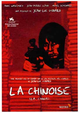 Chinoise, La - 11 x 17 Movie Poster - Spanish Style A