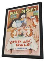 Chip an' Dale - 27 x 40 Movie Poster - Style A - in Deluxe Wood Frame