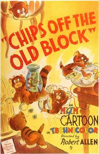 Chip off the Old Block - 11 x 17 Movie Poster - Style A