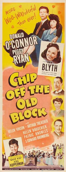 Chip off the Old Block - 14 x 36 Movie Poster - Insert Style A