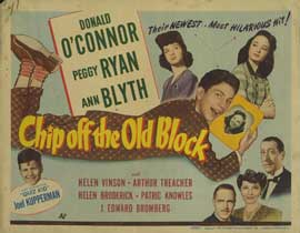 Chip off the Old Block - 22 x 28 Movie Poster - Style A