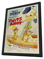 Chips Ahoy - 27 x 40 Movie Poster - Style A - in Deluxe Wood Frame