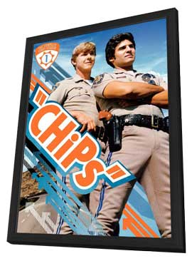 CHiPs - 27 x 40 Movie Poster - Style A - in Deluxe Wood Frame