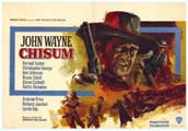 Chisum - 11 x 17 Movie Poster - Belgian Style A