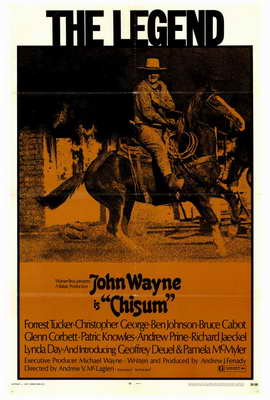 Chisum - 27 x 40 Movie Poster - Style A