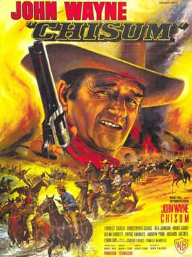 Chisum - 11 x 17 Movie Poster - French Style A